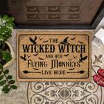 Lovers  Door Mat The Wicked Witch