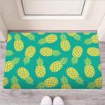 Green Pineapple Print Funny Outdoor Indoor Wellcome Funny Outdoor Indoor Wellcome Doormat