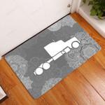 Amazing Trucker Doormat  Welcome Mat