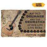 3D Acoustic Guitars An Old Guitarist Custom Doormat