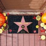 Family Name Pink Star Funny Outdoor Indoor Wellcome Doormat