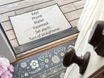 Doormat Checklist  Welcome Mat