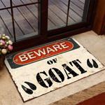 Beware Of Goat Funny Outdoor Indoor Wellcome Doormat
