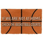 Alohazing 3D Check The Basketball Courts Doormat