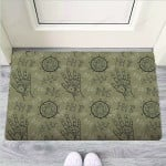 Chiromancy Gothic Witch Funny Outdoor Indoor Wellcome Funny Outdoor Indoor Wellcome Doormat