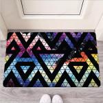 Galaxy Space Triangle Funny Outdoor Indoor Wellcome Funny Outdoor Indoor Wellcome Doormat