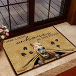 Horse In This House Funny Outdoor Indoor Wellcome Doormat