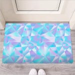 Geometric Holographic Funny Outdoor Indoor Wellcome Funny Outdoor Indoor Wellcome Doormat