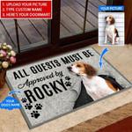 Dog - All Guests must be Funny Outdoor Indoor Wellcome Doormat