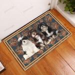 Havanese Floral Paw - Dog Doormat  Welcome Mat