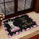 Hope you have Goat and Dog treat Funny Outdoor Indoor Wellcome Doormat