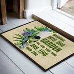 DESIGNBYTRE Welcome To Our Garden Funny Outdoor Indoor Wellcome Doormat