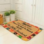 Dog Lovers Door mat Just Text When Youre Here