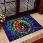 Every little thing Hippie Doormat  Welcome Mat