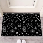 Black Gothic Witch Funny Outdoor Indoor Wellcome Funny Outdoor Indoor Wellcome Doormat