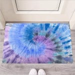 Black And Blue Tie Dye Funny Outdoor Indoor Wellcome Funny Outdoor Indoor Wellcome Doormat