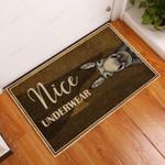 Donkey Nice Underwear Funny Outdoor Indoor Wellcome Doormat