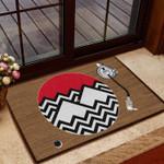Lovers  Door Mat Twin Peak
