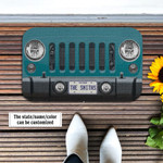 Jeep Wrangler Bikini Pearl Doormat