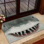 Love sharks Sharks Doormat