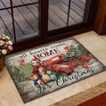 All Hearts Come Home For Christmas Cat Doormat