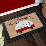 How We Roll Doormat DHC04063321