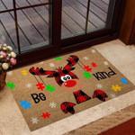Be Kind Autism Awareness Coir Pattern Print Doormat
