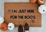 Just Here For The Boo CLT091019R Doormat
