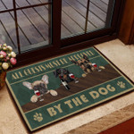 Must Be Approved By The Dog Doormat DHC07061843