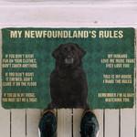 Newfoundlands Rules Doormat DHC04062198