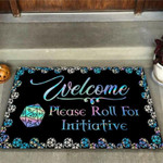 Welcome please roll for initiative Tabletop RPG Doormat