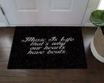 Music Is Life CL19100299MDD Doormat