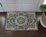 Mandala Persian Blue Floral DD19100053D Doormat