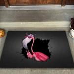 Hello Flamingo Doormat