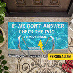 If We DonT Answer Personalized Doormat DHC07061802