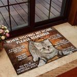Please remember- Cat Doormat