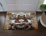Native American And Wild Animals HN09100053D Doormat
