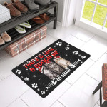Like A Bunch Of Cats Rubber Doormat DHC04061630