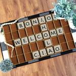 Scrabble welcome Doormat