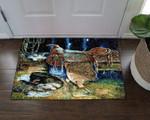 Horse Saddle VD05100080D Doormat