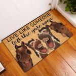Horse Doormat DHC0706806