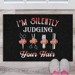 IM Silently Judging Your Hair Doormat DHC05062086