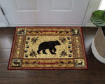 Native American Bear DN08100065D Doormat