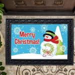 Merry Christmas Snowman Doormat DHC04063421
