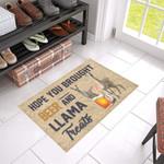 Llama Llama Treats Doormat DHC04064636