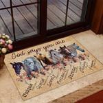 Horse Doormat DHC04064481