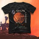 Mars Landing 03 55 PM Feb 18 2021 T-shirt