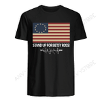 Stand Up For Betsy Ross The Rush Limbaugh Show T-shirt