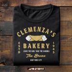 Clemenza's Bakery Estd 1945 Leave The Gun Take The Cannoli The Bronx New York City T-shirt