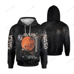 Mars Landing All Over Print Hoodie